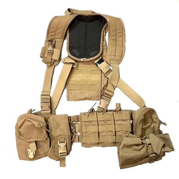 Tactical Tailor Chest Rig with Additional Pouches