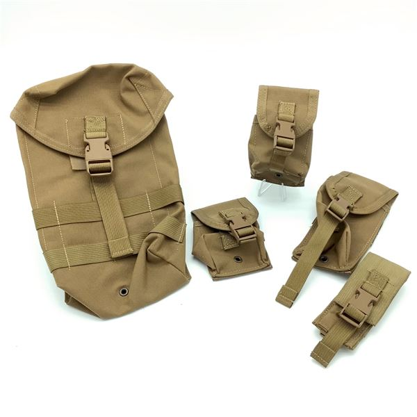 5 Tactical Tailor Assorted Molle Pouches