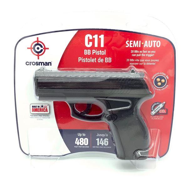 Crosman C11 Semi-Auto BB Pistol, New