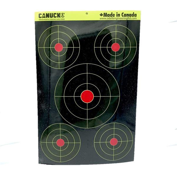 Canuck Splatter Assorted Target 24 Pack, New