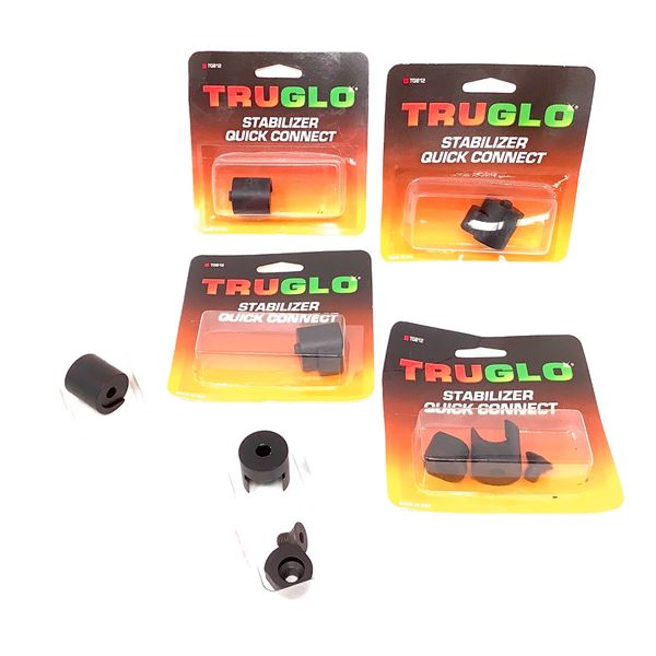 6 Truglo Stabilizer Quick Connect, New