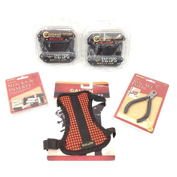 Assorted Archery Accessories, New