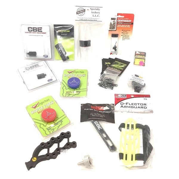 Assorted Archery Accessories 20 Pieces, New
