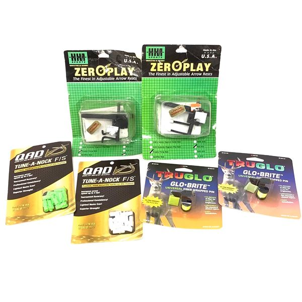 Assorted Archery Parts, New