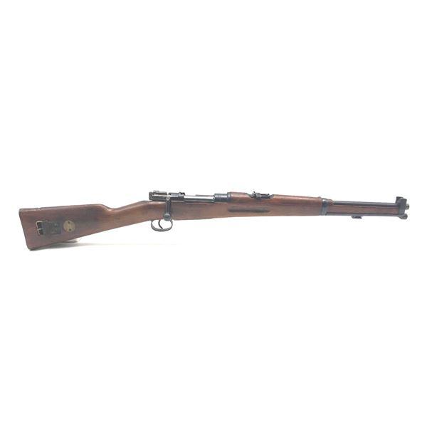 1918 Swedish Mauser 94 Bolt Action Rifle, 6.5X55