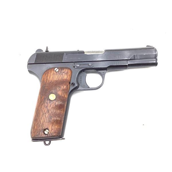 Yugoslavian M57 Semi Auto Pistol, 7.62x25, Restricted