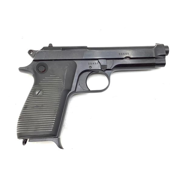Beretta Model 1951 Semi Auto Pistol, 9mm, Restricted, Surplus