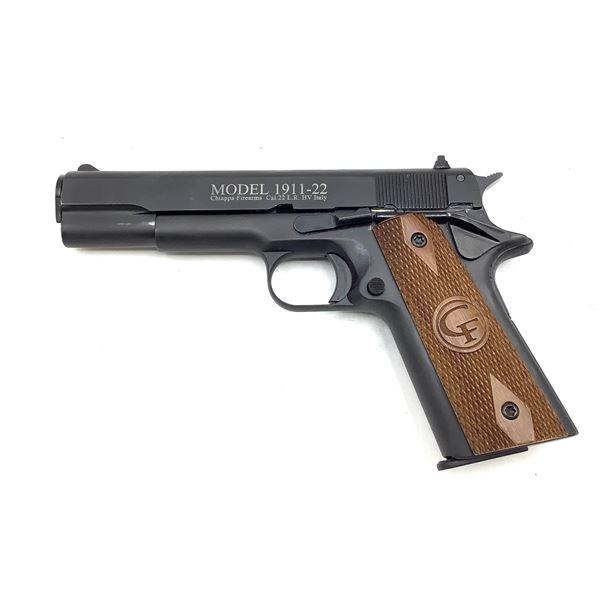 Chiappa Model 1911-22 Semi Auto Pistol, 22lr, Restricted