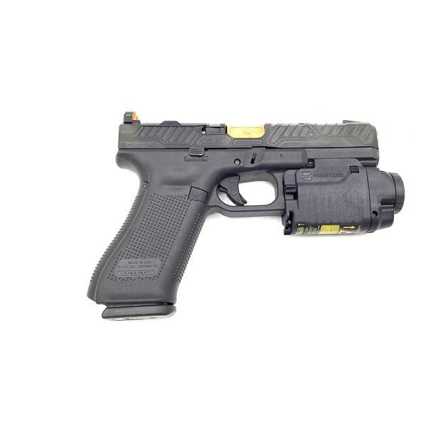 Glock 17 Gen 5, with Zev Slide and Barrel, Semi Auto Pistol, 9mm,  Restricted, New