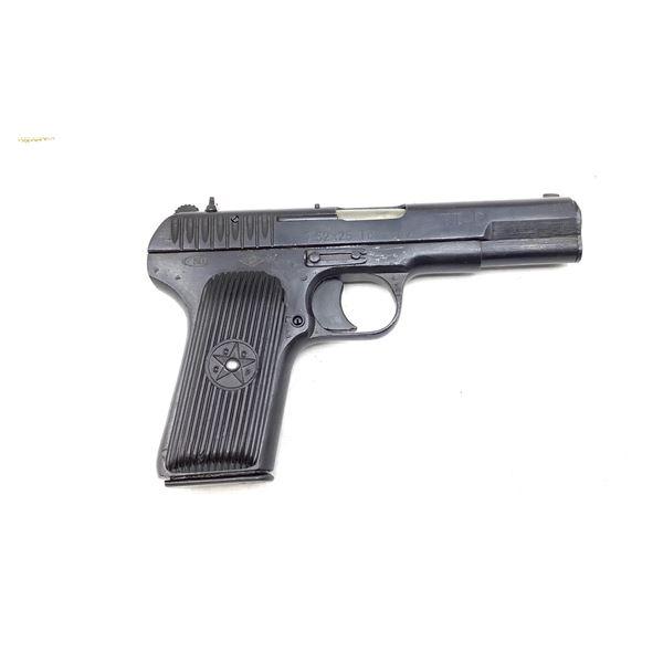 Russian Tokarev TT33 Semi Auto Pistol, 7.62X25,  Restricted