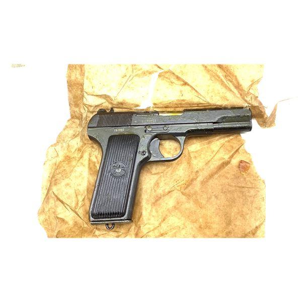 Yugoslavian M57 Semi Auto Pistol, 7.62x 25, Restricted