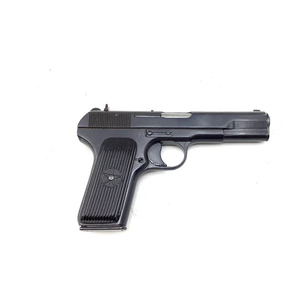 Romanian TT33 Semi Auto Pistol, 7.62x25, Restricted
