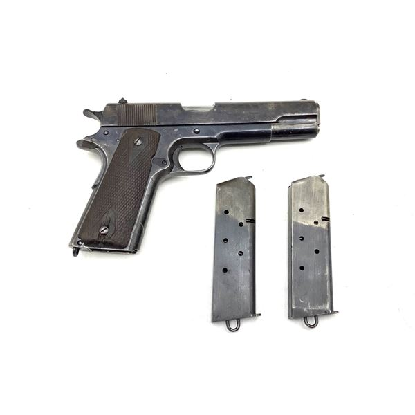 Canadian Expeditionary Force Contract Colt 1911 Semi Auto Service Pistol, 45 ACP, Restricted