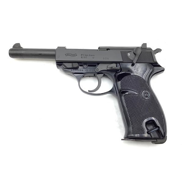 Walther P1, 9mm, Semi Auto Pistol, Restricted, Surplus
