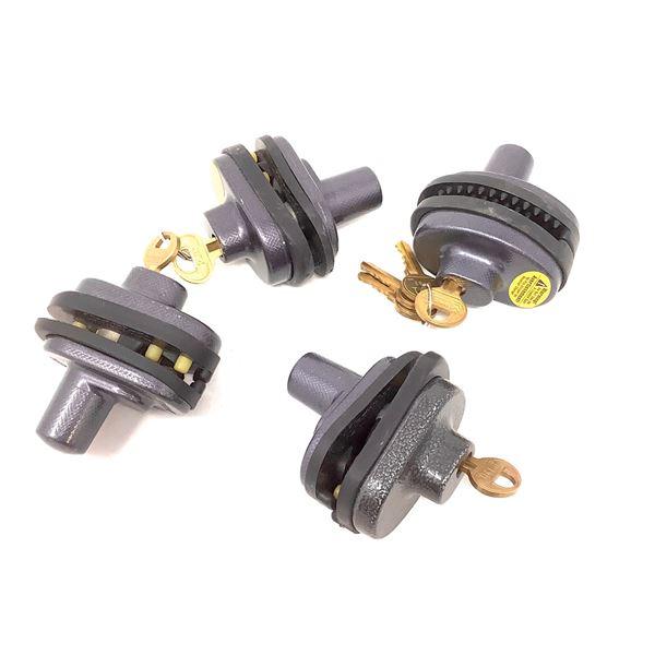 4 Keyed Trigger Locks