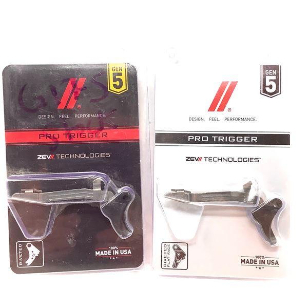 2 Glock 17 Gen 5 Factory Take-off Triggers
