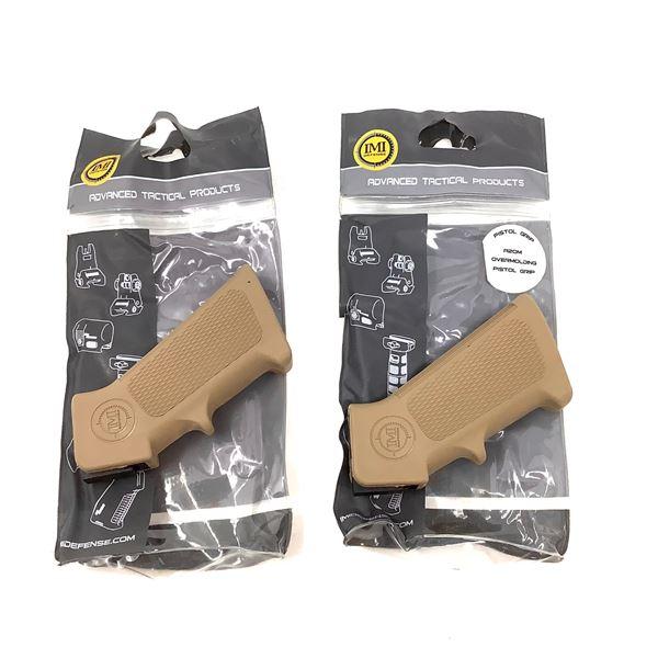 2 IMI AR15 Pistol Grips, New