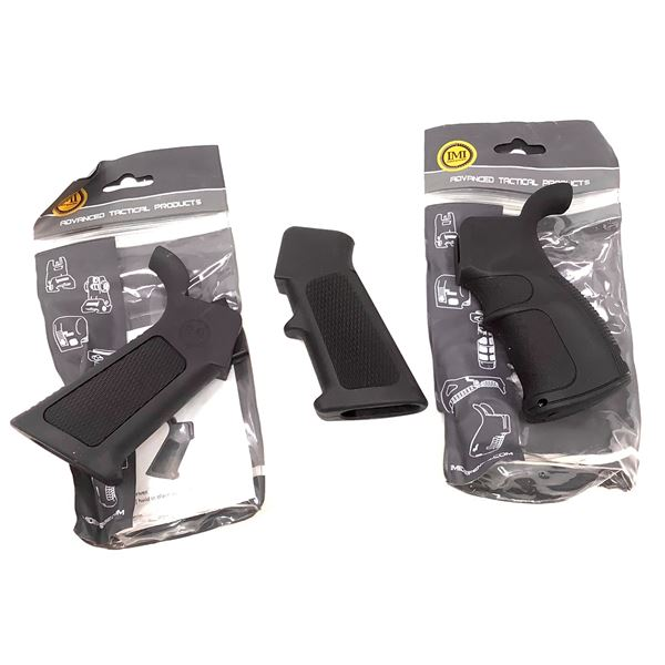 3 IMI Pistol Grips, New