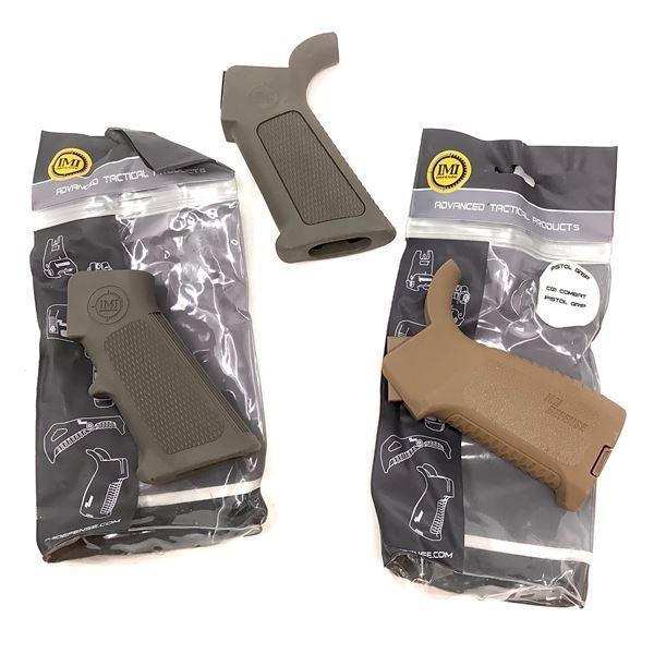 3 IMI AR15 Pistol Grips
