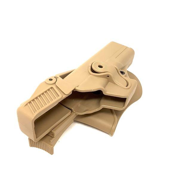 IMI Glock 17, Level 3 Paddle Holster
