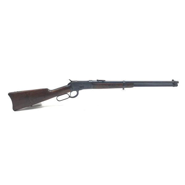 1912 Winchester 1892 Lever Action Saddle Ring Carbine, 44-40