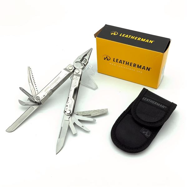 Leatherman Rebar Multi-tool with Pouch, New