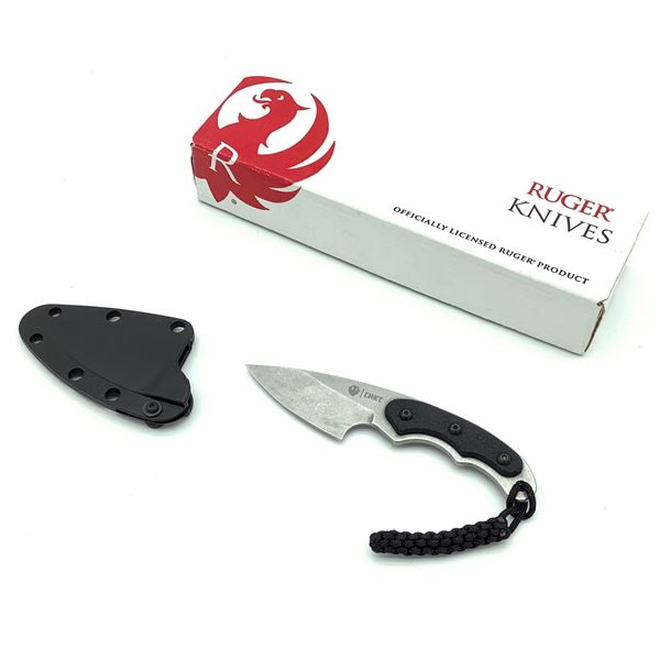"""Ruger Carbine Knife 1.5"""" Fixed Blade, New"""