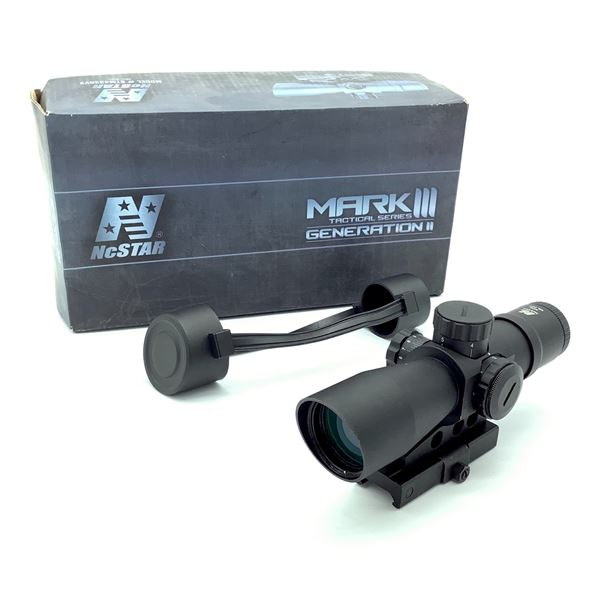 NcStar Mark III Tactical Series Gen 2 Mil Dot 4 x 32 Scope