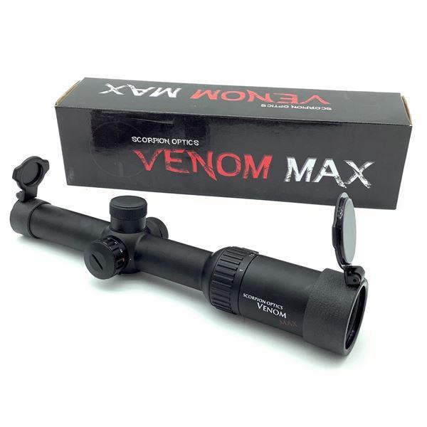 Scorpion Optics Venom Max 1 - 6 x 24 IR Scope, New