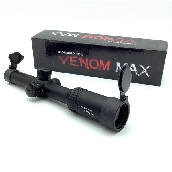 Scorpion Optics Venom Max 1 - 6 x 24 Scope, New