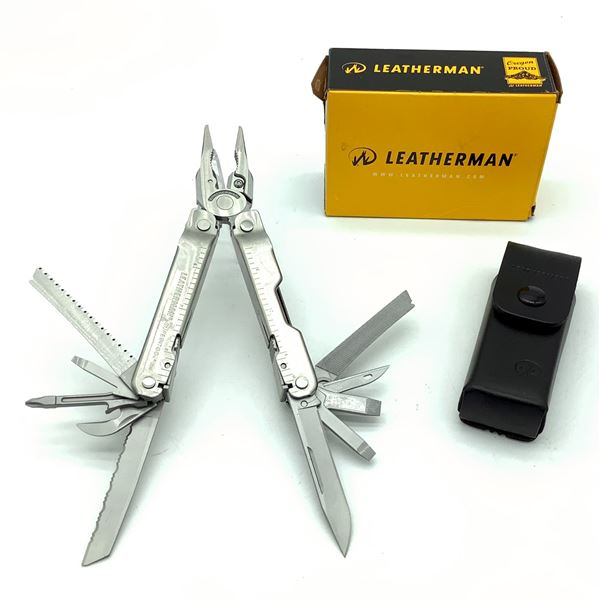 Leatherman 'Super Tool' Multi-tool with Pouch, New