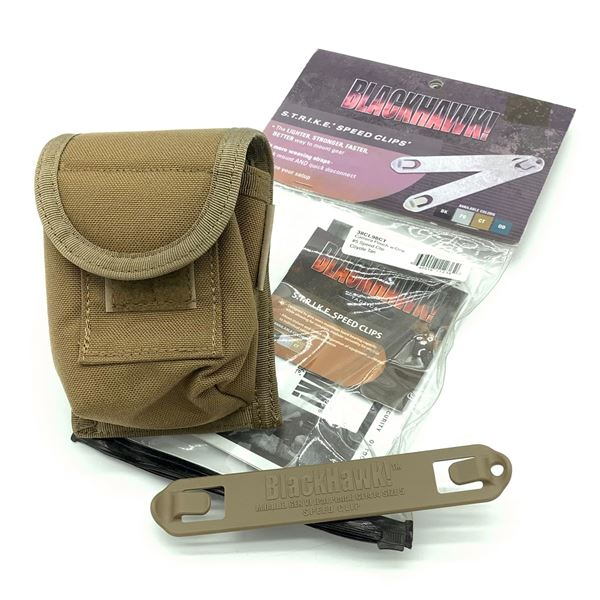 Blackhawk Camera Pouch with One #5 Speed Clip, New