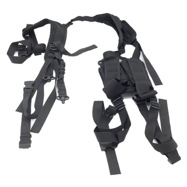 PDW Holster Sling with Double Mag Pouch