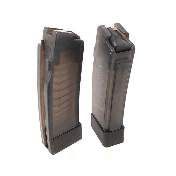 2 Scorpion Evo Magazines for 9mm, 5 Round Capacity