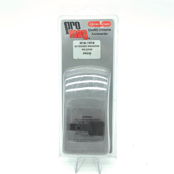 Pro-Mag M1A/M14 Extended Magazine Release, New