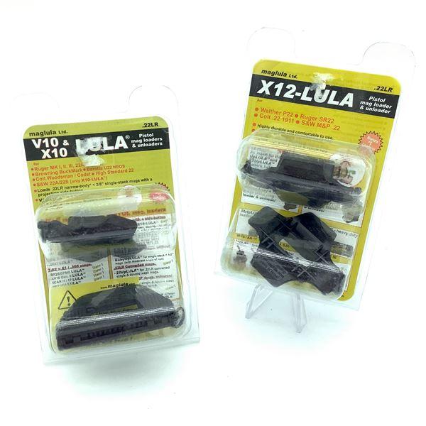 2 Maglula .22LR Pistol Mag Loader & Unloader, New