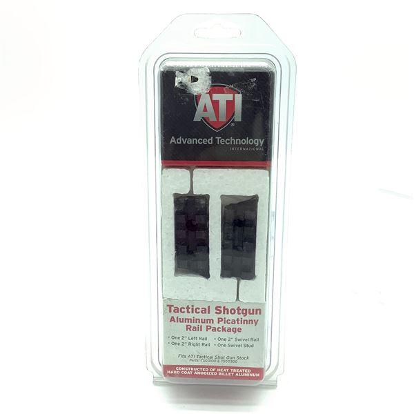 ATI Tactical Shotgun Aluminum Picatinny Rail Package, New