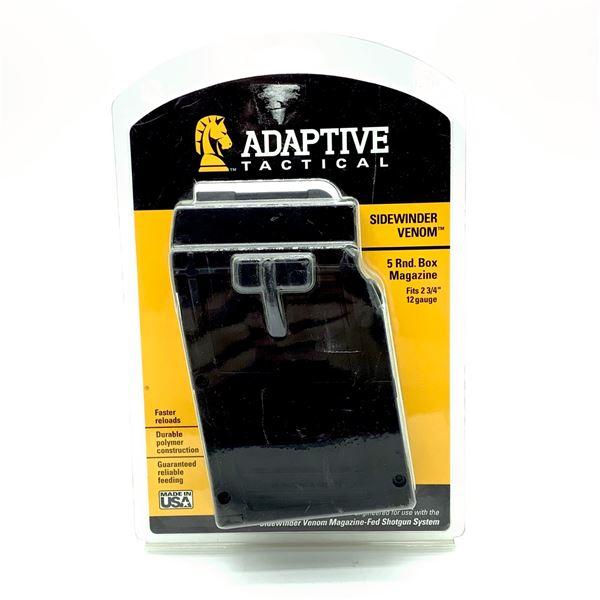 Adaptive Tactical Side-Winder Venom 5 Round Box Magazine, New