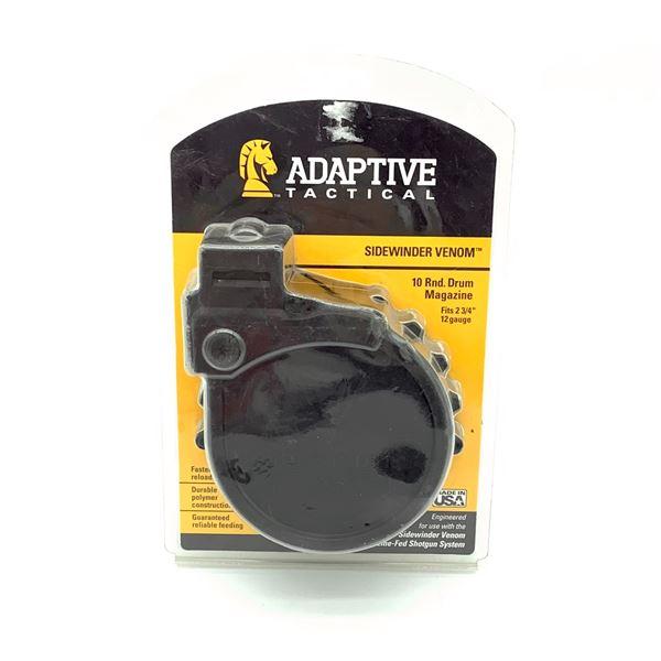 Adaptive Tactical Side-Winder Venom 10 Round Drum Magazine, New