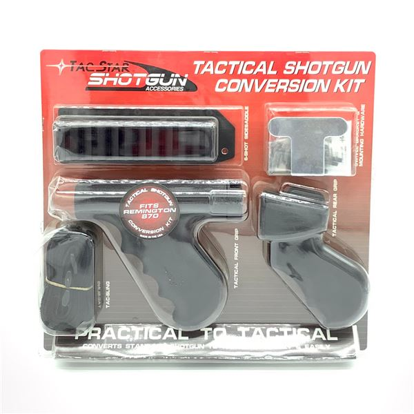 Tac Star Tactical Shotgun Remington 870 Conversion Kit, New