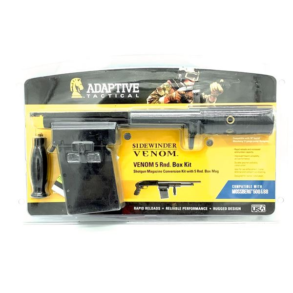 Adaptive Tactical Side-Winder Venom 5 Round Box Kit for Mossberg 500 & 88