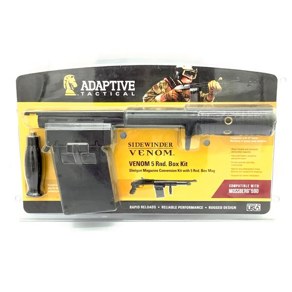 Adaptive Tactical Side-Winder Venom 5 Round Box Kit for Mossberg 590