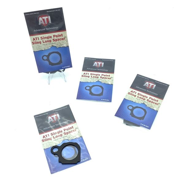 4 ATI Single Point Sling Loop Spacers, New