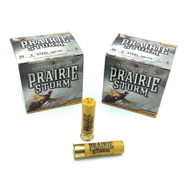 Federal Prairie Strom Steel 20ga Ammunition - 50 Rnds