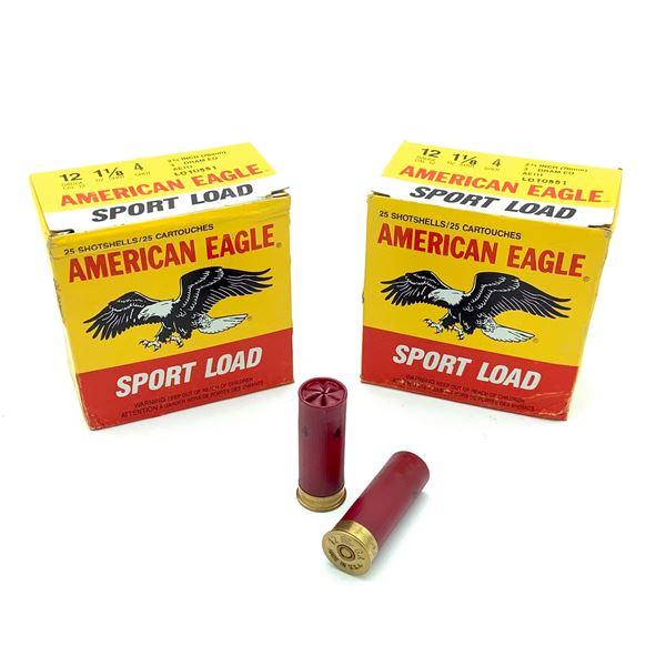 American Eagle Sport Load 12ga Ammunition - 50 Rnds