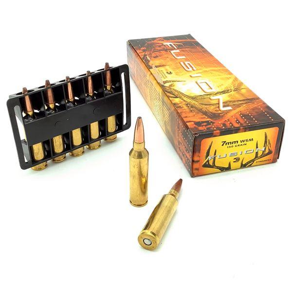 Federal Fusion 7mm WSM Ammunition - 20 Rnds