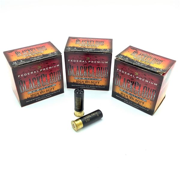 Federal Black Cloud Steel 12ga Ammunition - 75 Rnds