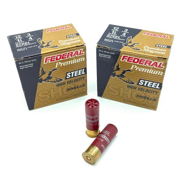 Federal Premium Magnum Steel 12ga Ammunition - 50 Rnds