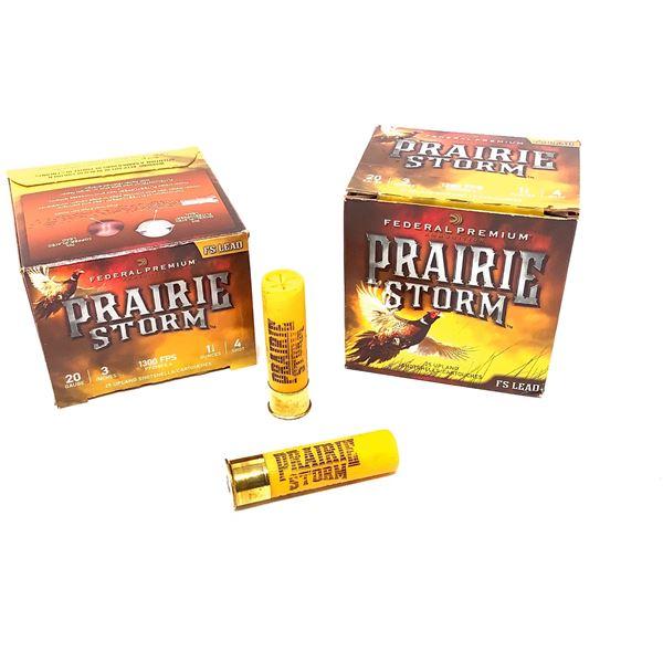Federal Prairie Strom Lead 20ga Ammunition - 50 Rnds