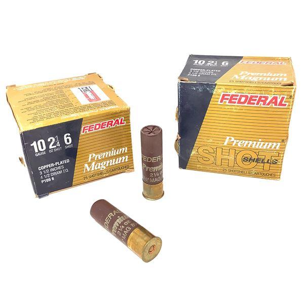 Federal Premium Magnum 10ga Ammunition - 50 Rnds